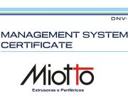 Certificado ISO 9001 - 2008